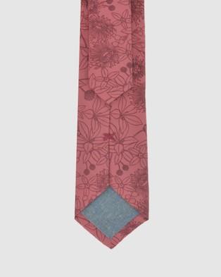 Peggy and Finn - Wildflower Tie - Ties (Rose) Wildflower Tie