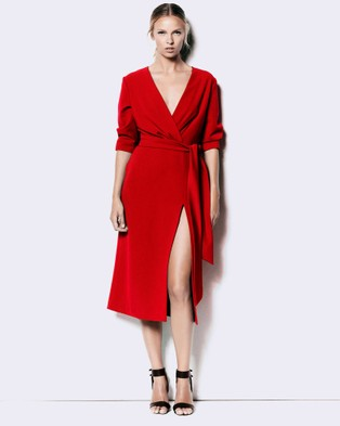 Jewels + Grace – ADELLE – Dresses (Red)