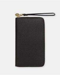 kikki.K - Leather Zip-Closure Travel Wallet