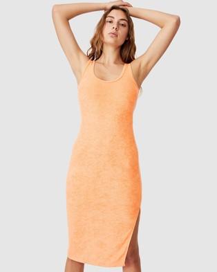 Cotton On Tessa Tank Dress - Bodycon Dresses (Melon)