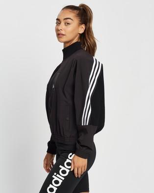 adidas Performance Sportswear Aeroknit Track Top - Coats & Jackets (Black)