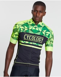 Cycology - Geometric Cycling Jersey