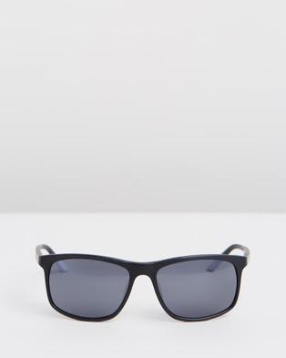 Nike Sun Lore CT8080 - Sunglasses (Matte Black, Light Bone & Dark Grey)