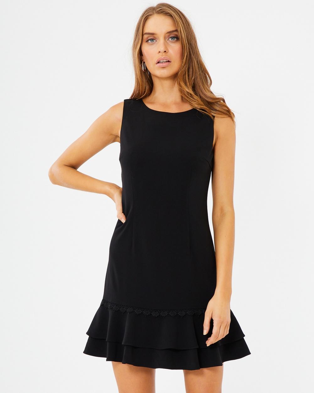 Tussah Marilla Shift Dress Dresses Black Marilla Shift Dress