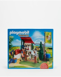 Playmobil - Horse Grooming Station - Kids