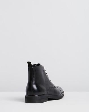 Double Oak Mills - Hoy Leather Boots (Black)