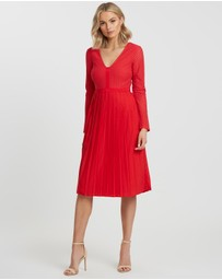 CHANCERY - Brianna Pleated Dress