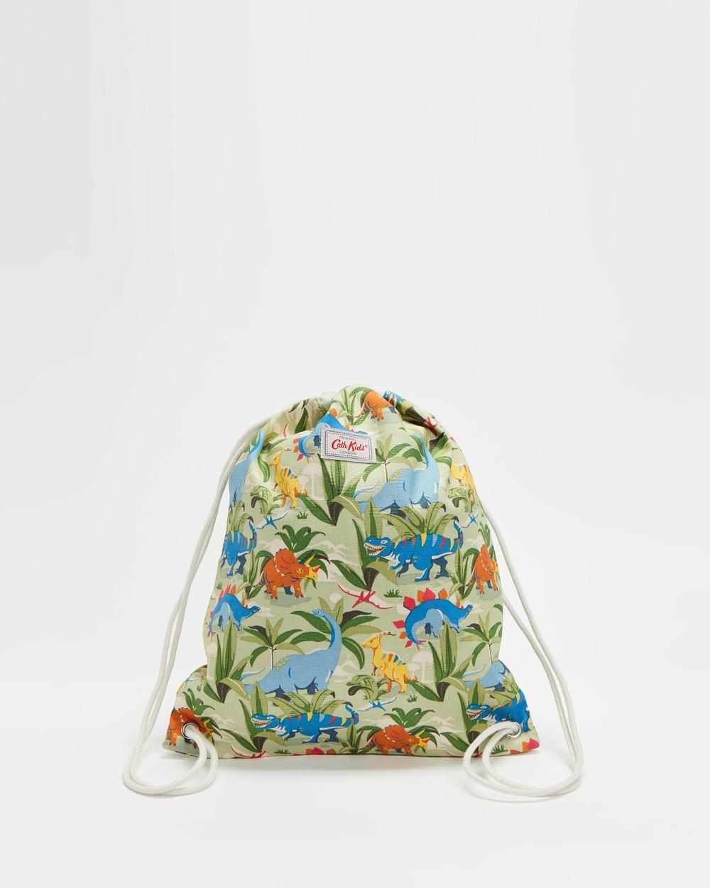 Cath Kidston Drawstring Bag Kids Backpacks Dinosaur Jungle