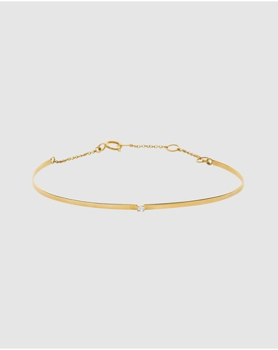 Luna Rae - Solid Gold - Horizon Bangle