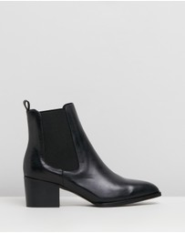 Alias Mae - Chilli Leather Ankle Boots