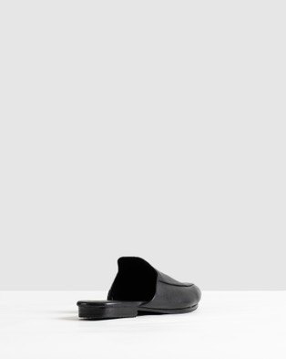 JAMES | SMITH Lower East Side Loafers - Flats (Black)