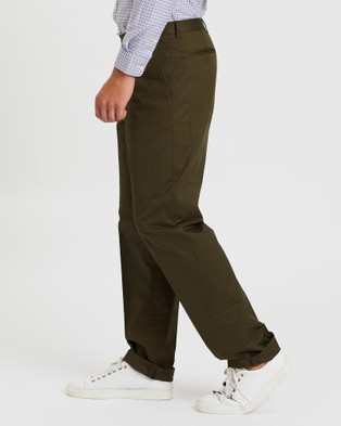 Gieves and Hawkes Casual Pants - Pants (Green)