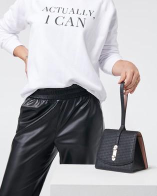 She Lion The Connector Handbag - Clutches (Black)
