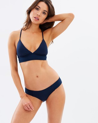 Seafolly – Quilted Hipster Bikini Bottoms Indigo
