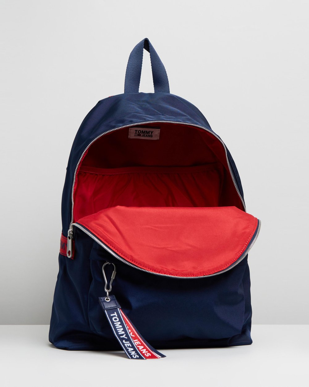 27f75788d23 TJU Logo Tape Backpack by Tommy Jeans Online | THE ICONIC | Australia