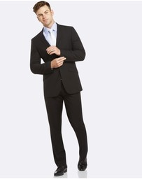 Kelly Country - Livorno Essential Slim Fit Black Suit