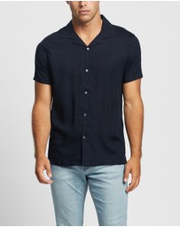 Abercrombie & Fitch - Short Sleeve Bowling Shirt