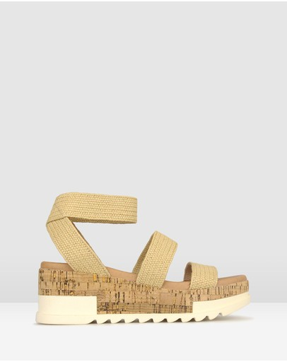 Betts - Bandit Cork Wedge Sandals