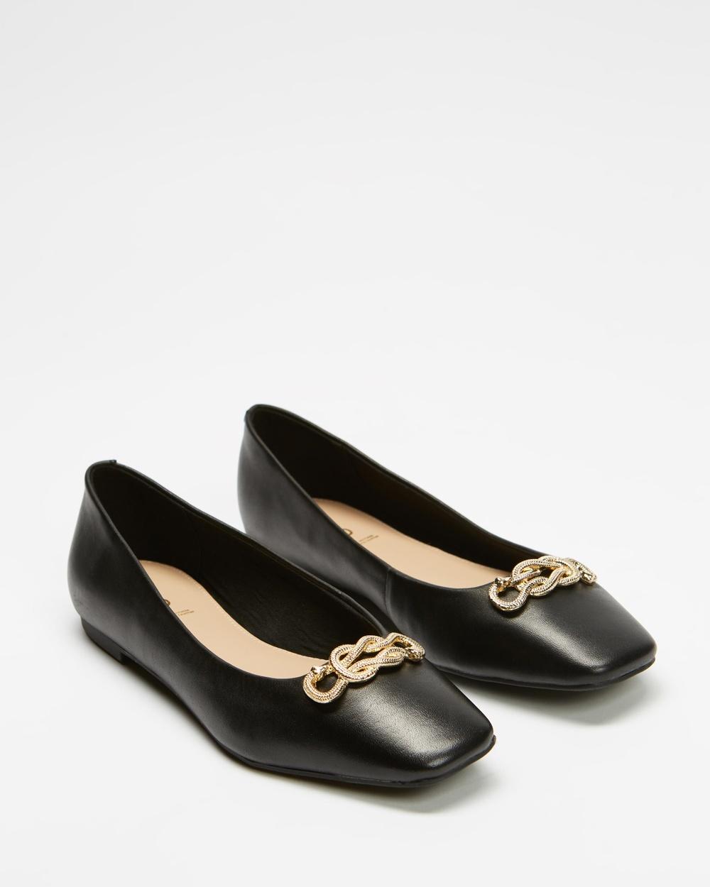 ALDO Lothauvia Ballet Flats Black