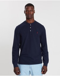 Polo Ralph Lauren - Featherweight Mesh Long Sleeve Henley
