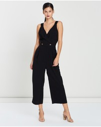 Whistles - Lara Button Jumpsuit