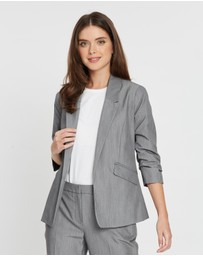 DP Petite - Petite Edge-To-Edge Jacket