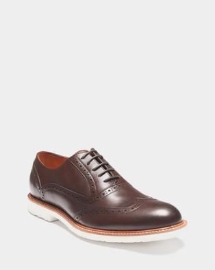 3 Wise Men - The Lane - Dress Shoes (Brown) The Lane