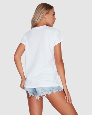 Billabong Magnetic Short Sleeve Tee - T-Shirts & Singlets (WHITE)