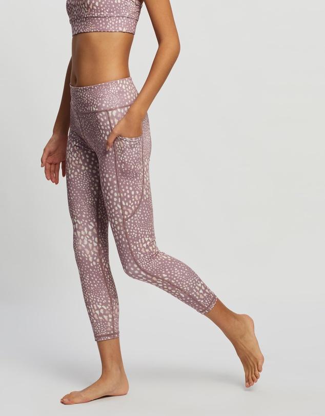 Women Recycled Motion 7/8 Leggings