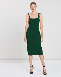 BY JOHNNY. - Knotted Midi Dress