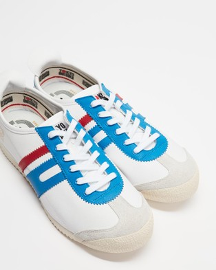 Onitsuka Tiger Delegation 64   Unisex - Sneakers (White / Electric Blue)