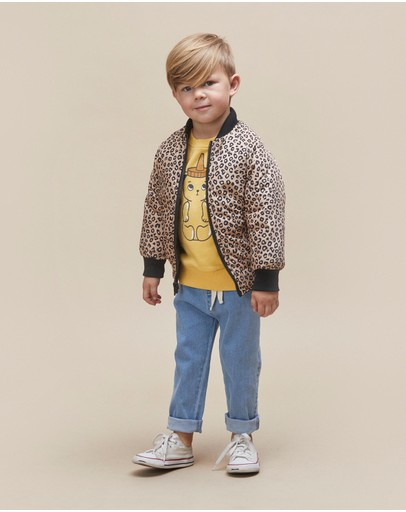 Huxbaby - Animal Reversible Bomber - Kids