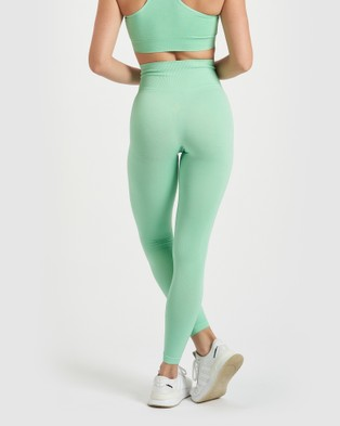 Core Trainer Maya Tights - Sports Tights (Mint)