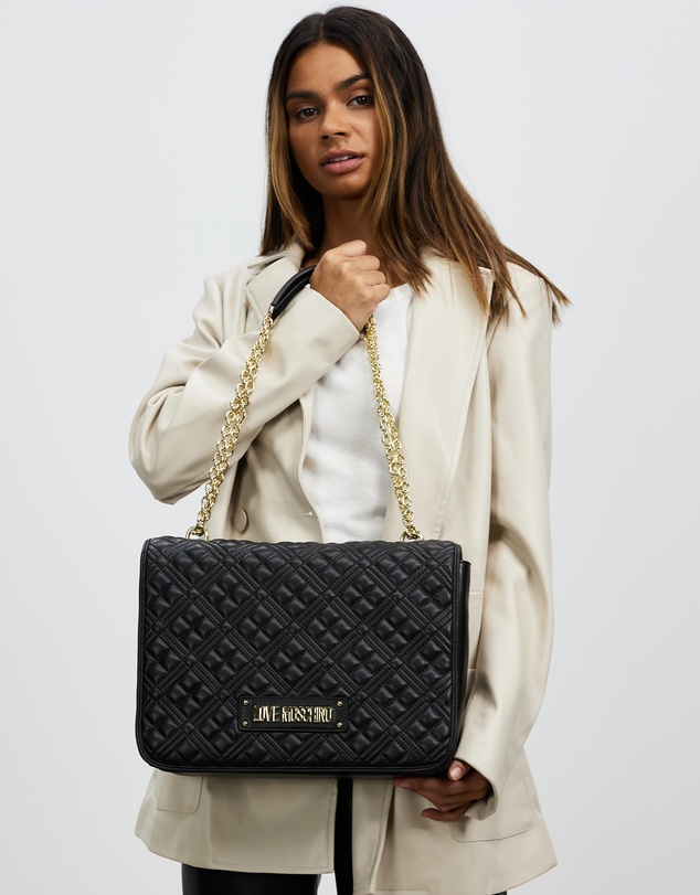 Women Quilted Soft Shopper Tote