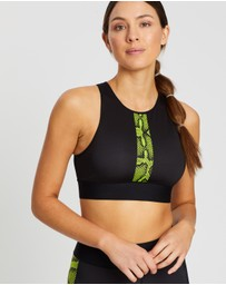 Ultracor - Altitude Linear Python Crop Top