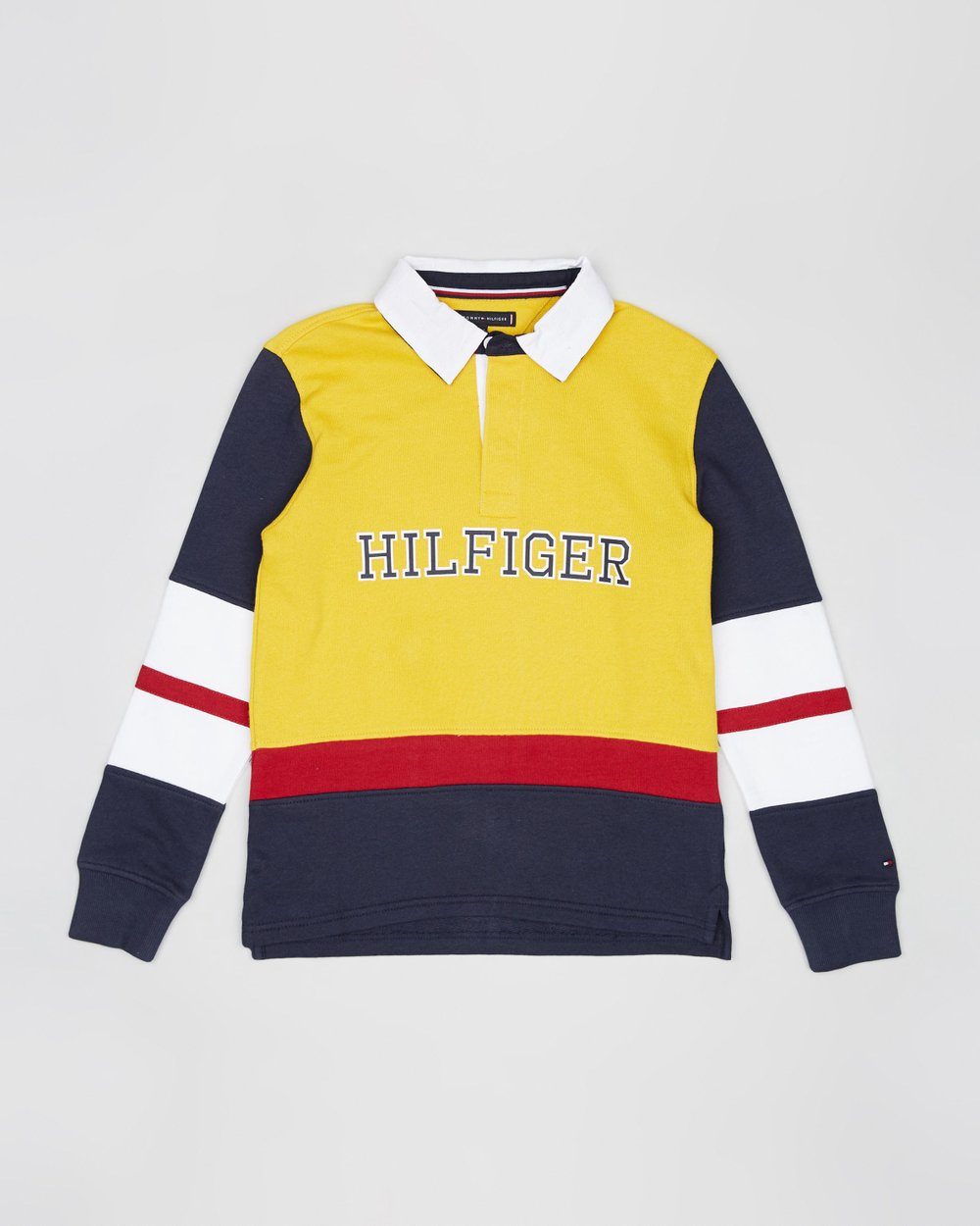 0cca88b339f Cut & Sew Terry Rugby Jersey - Teens by Tommy Hilfiger Kids Online | THE  ICONIC | Australia