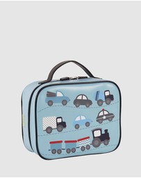 Bobbleart - Large Lunch Bag Cars