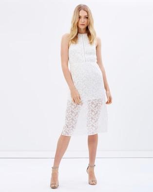 Talulah – Never Too Late Midi Dress – Dresses (White)
