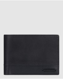 Quiksilver - Mens Pathway Bi Fold Leather Wallet