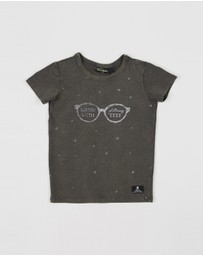 Rock Your Kid - Glittering Eyes SS T-Shirt - Kids