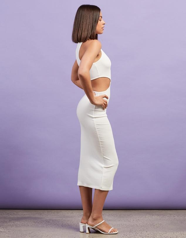 Women Ibiza Cut Out Midi Dress