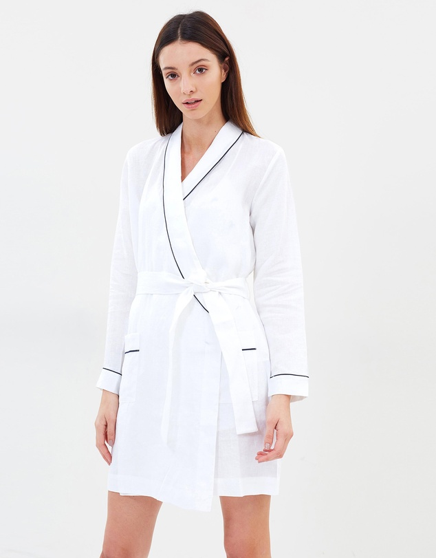 c887dde691 Linen Robe by Jasmine and Will Online