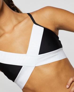 P.E Nation Front Runner Sports Bra - Crop Tops (Black)