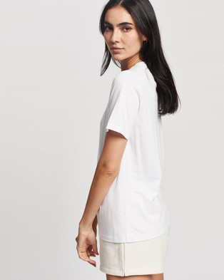 Elka Collective Trademark Tee - T-Shirts & Singlets (White)