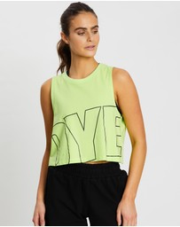 Doyoueven - Icon Cropped Muscle Tank