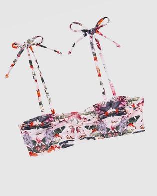 Aqua Blu Kids Delilah Bandeau Bikini Set   Teens - Bikini Set (Delilah)