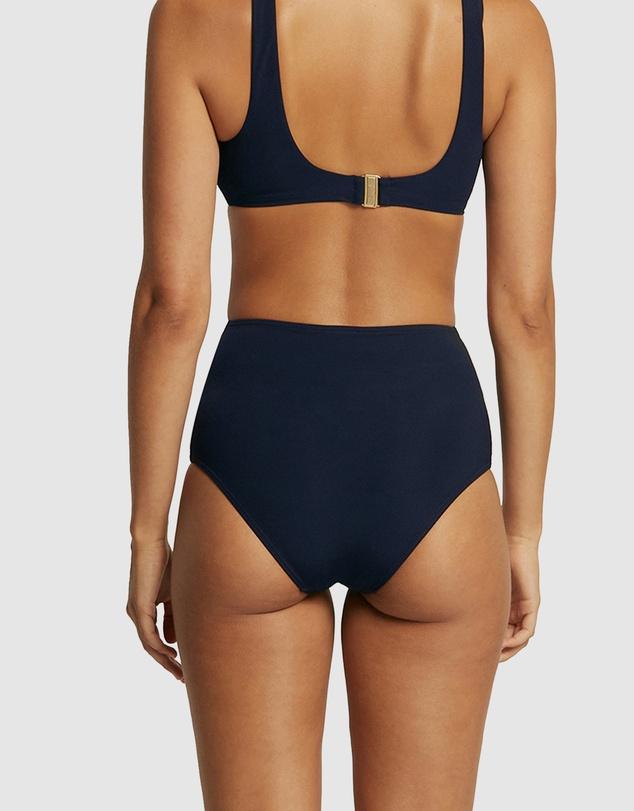 Women JETSET Fold Down Bikini Bottom