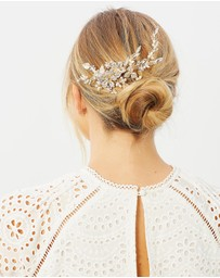 Ivory Knot - Isla Hair Comb