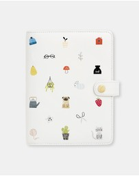 kikki.K - Leather Personal Planner Medium Sweet