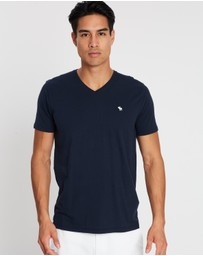 Abercrombie & Fitch - SS Icon V-Neck Tee